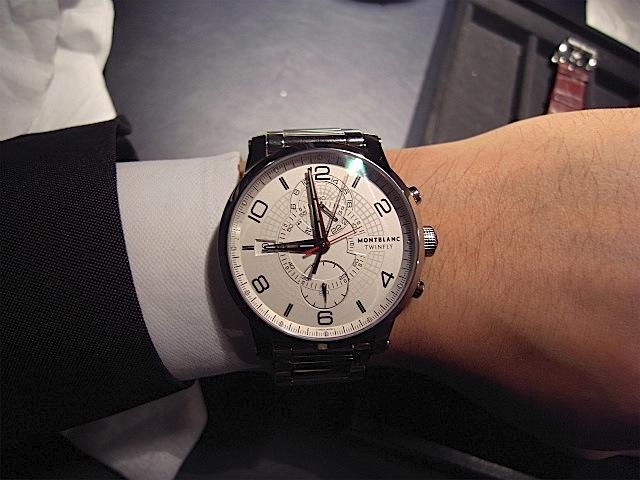 665bf4319a MONTBLANC 2013年新作時計 モンブラン タイムウォーカー ツィンフライ クロノグラフ