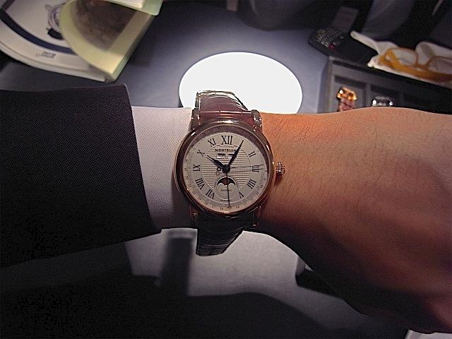 c2e8c9c217 MONTBLANC 2013年新作時計 モンブラン スター カンティエーム コンプリート