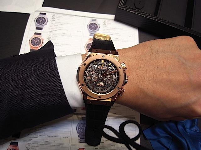 low priced d6bf5 5c10d ウブロ 2013年新作時計 クラシック・フュージョン45mm〈アエロ ...